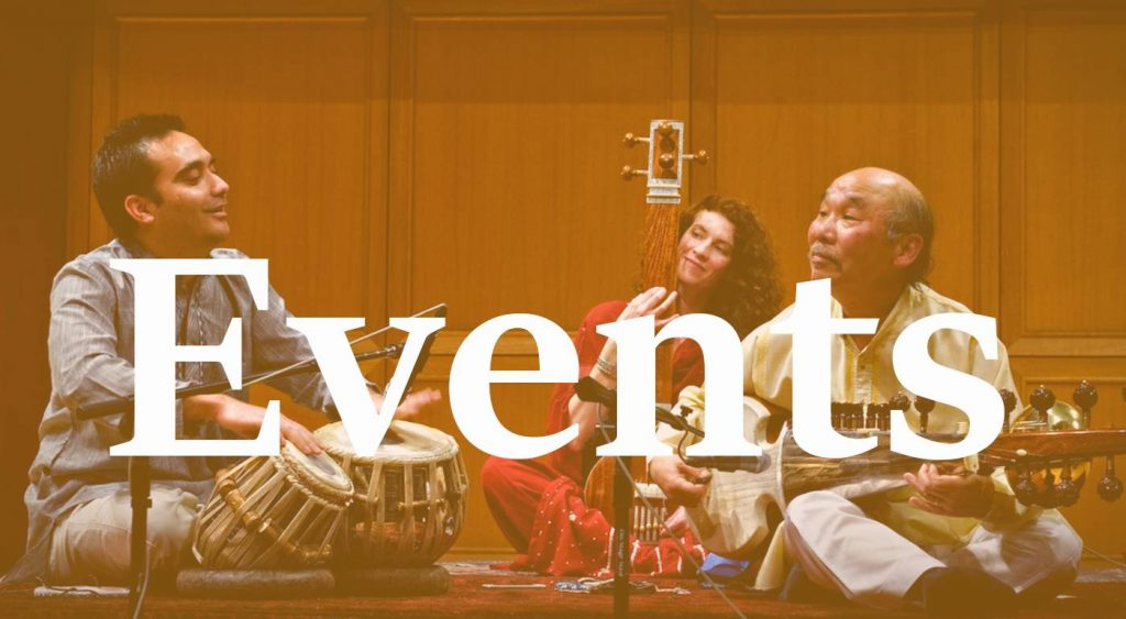 We organise Indian Classical Music Events